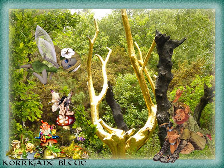 Pour Ella, les esprits de la forêt.... (2/3)