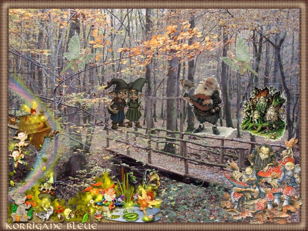 Pour Ella, les esprits de la forêt.... (3/3)