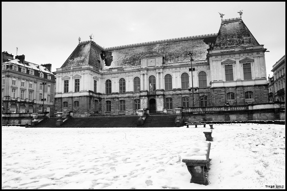 IMParlement neige