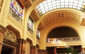 Architecture des bains Gellert