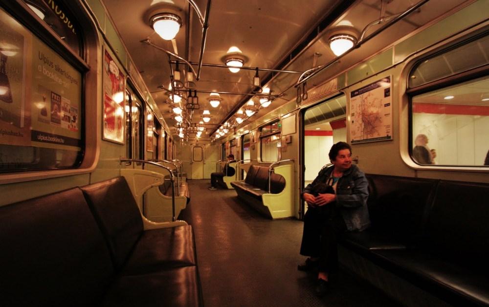 Budapest Metro Train