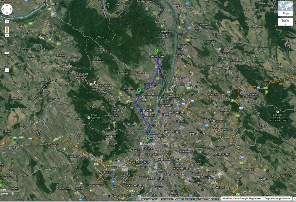 route de Szentendre