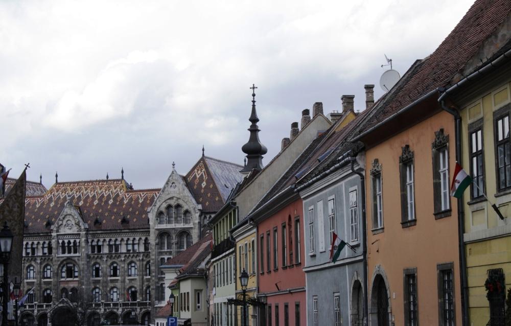 Les rues du vieux Buda
